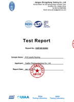 BWF Test Report